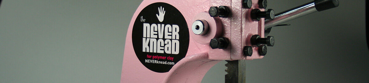The NEVERknead Polymer Clay Kneader