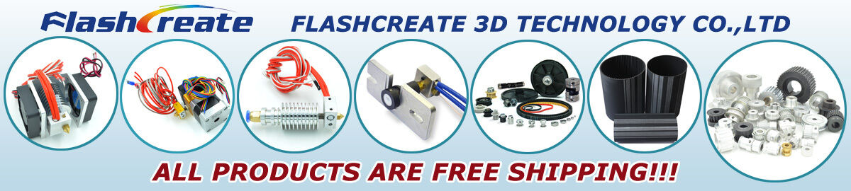 FLASHCREATE 3D FACTORY OUTLETS