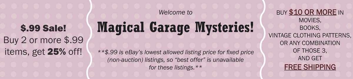 Magical Garage Mysteries