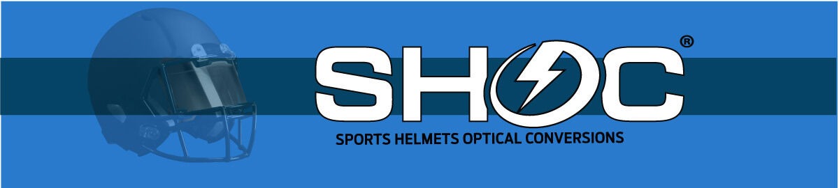 SHOC Football Visors and Inserts