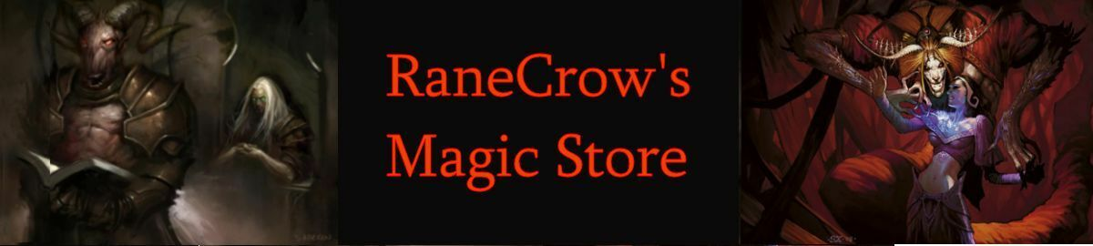RaneCrow s Magic Store
