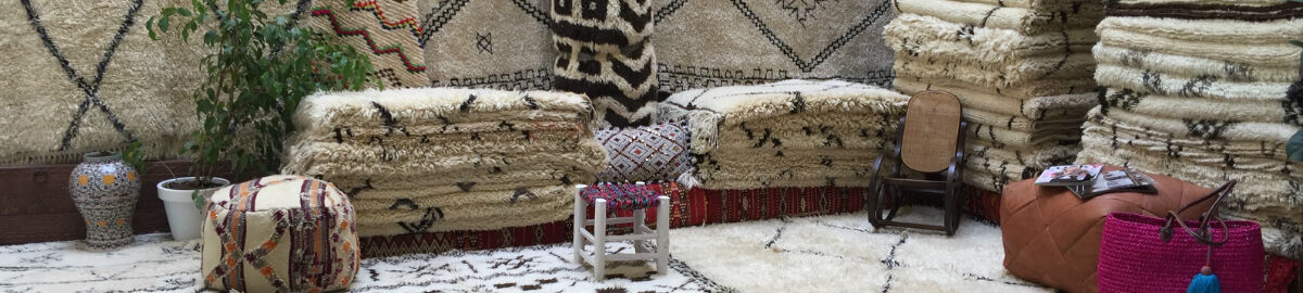 VINTAGE MOROCCAN BENI OURAIN RUGS