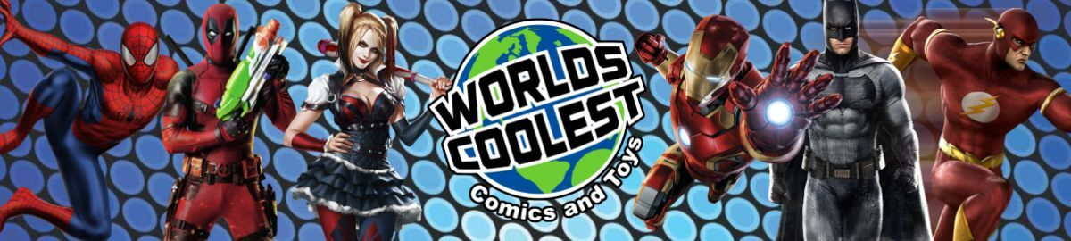 World's Coolest Comics & Toys