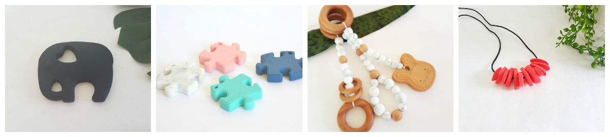 Indi and Frey Silicone Jewellery