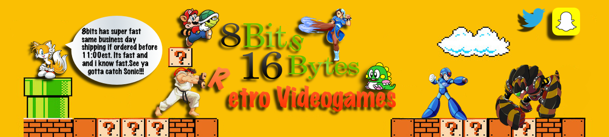 8BIT16BYTES  RETRO VIDEOGAMES