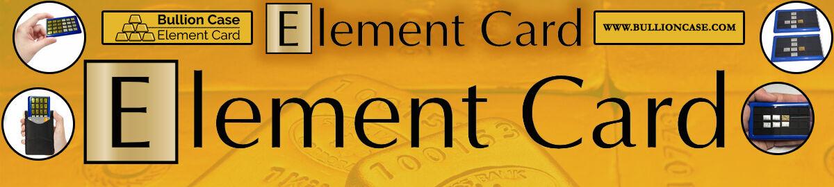 Bullion Case - Element Card Gold