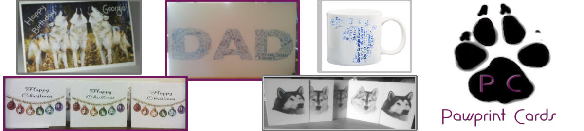 Pawprint Cards