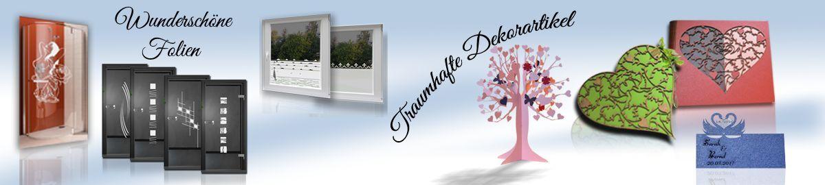 Wecke Design Folien Dekorartikel