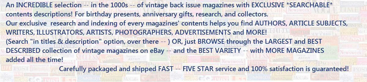 More Magazines
