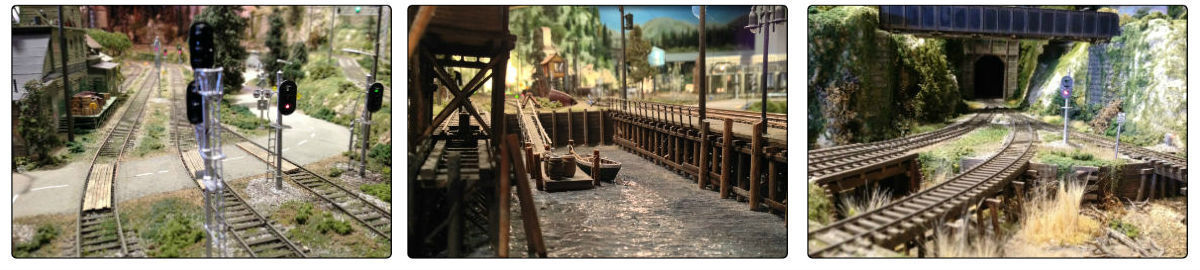 Model Scenery and Structure