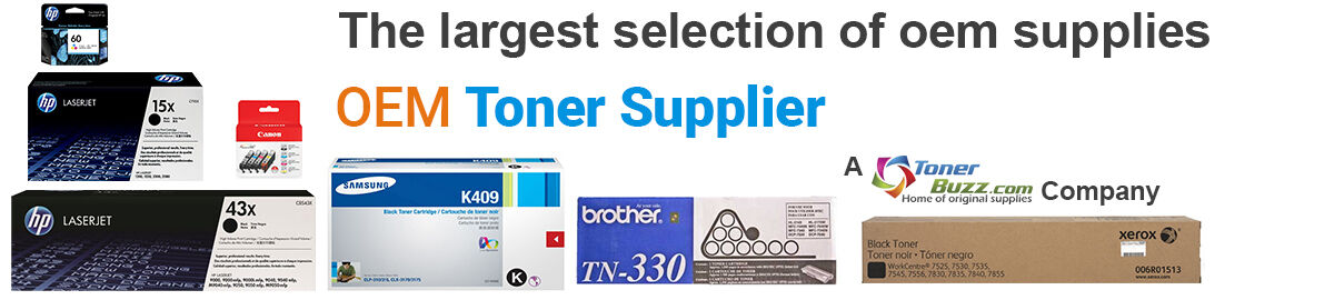 OEM Toner Supplier - We're #1