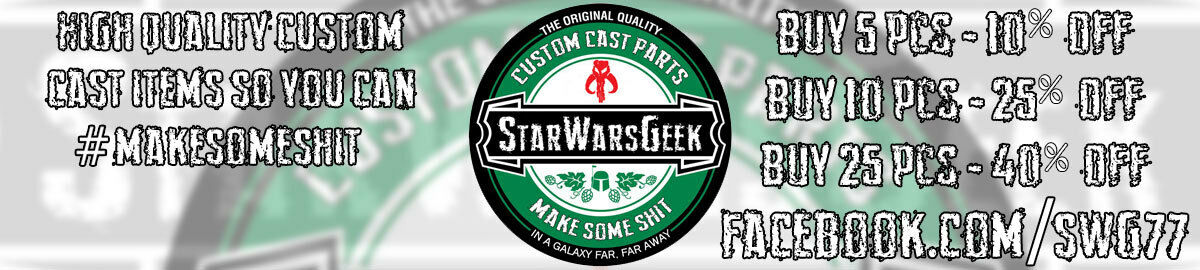 StarWarsGeek Custom Parts and Toys