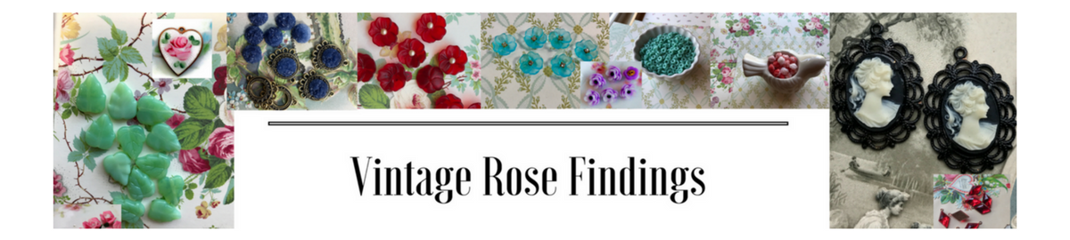 Vintage Rose Findings