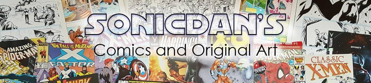 Sonicdan's Comics/Art