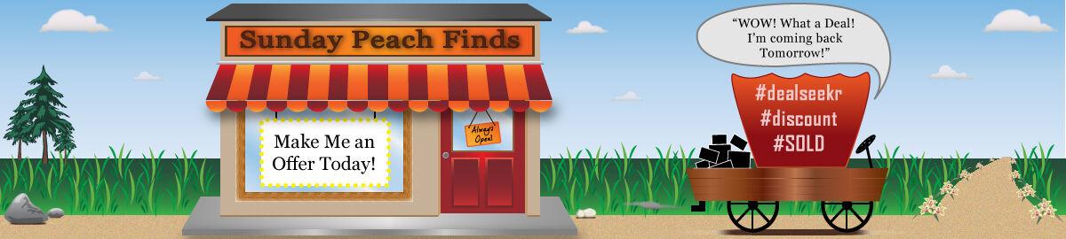 Sunday Peach Finds