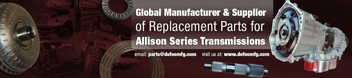 Parts for Allison Transmissions