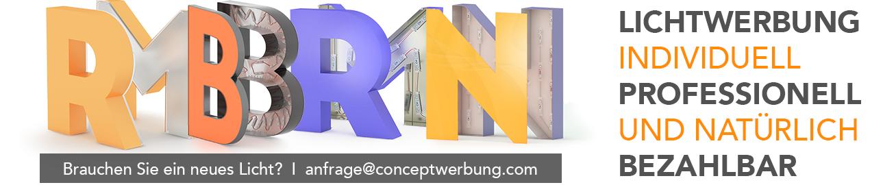 Concept Werbung | Euro Lichtwerbung