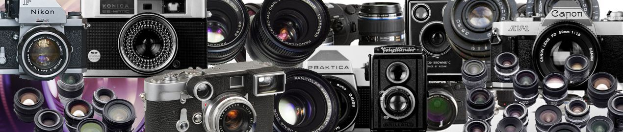 Cameras Lenses and Collectibles
