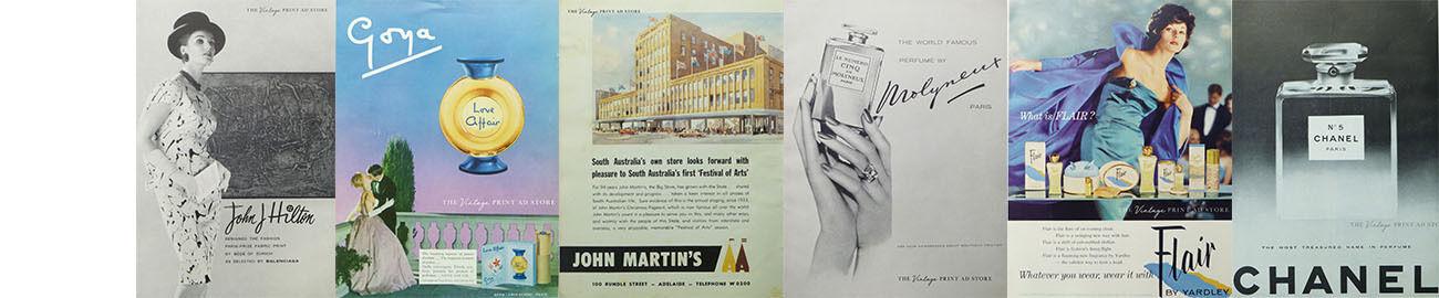 Vintage Print Ad Store