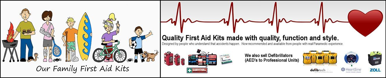 Our Family First Aid Kits