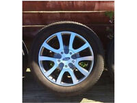 Genuine ford rs limited edition wheels with tyres