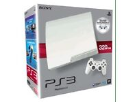 PS3 WHITE 320GB WITH EXTRAS !!