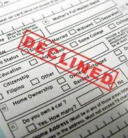 Bank turned down your mortgage or loan application? Call us !