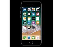 I phone 7 128g in black in excellent condition swap for a car