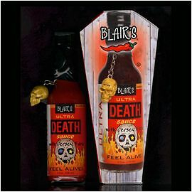 Blair's ULTRA DEATH SAUCE!! BLAIRS XXX HOT chilli spicy & FREE POST! HABANERO