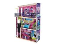 Early Learning Centre dolls house with elevator and accessories!