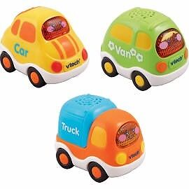 Vtech Baby Toot-Toot drivers 3 Car Pack - Everyday Vehicles