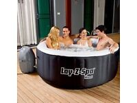 Brand new lay z spa boxed hot tub perfect Christmas present or nye party