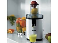Philips Juicer for fruit and vegetable (HR1861) - Hardly used