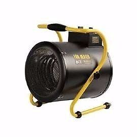 Olympus OLY-J3/1 JetHeat Industrial Electric Fan Heater With Thermostat (3Kw/12000Btu) 240V~50Hz
