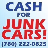 Scrap car removal & free tow,we pay cash for junk car 7802220825