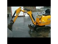 jcb micro digger low hours