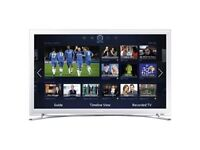 Samsung ue32f4510 32 inch smart wifi built-in hd ready 720p LED TV with freeview hd white