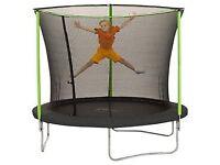 Plum 8ft trampoline (with enclosure) BNIB