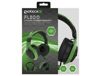 Gioteck FL-200 Green Headset - No usb Cable