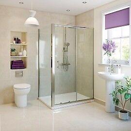 Shower Frame and door. Kiimat Eight