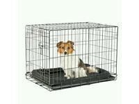 Dog cage - small size black