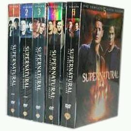 Supernatural season 1-5