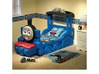 Thomas the tank bed