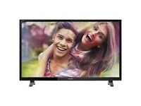 Sharp 49-Inch Widescreen 1080p Full HD LED TV with Freeview HD - Black