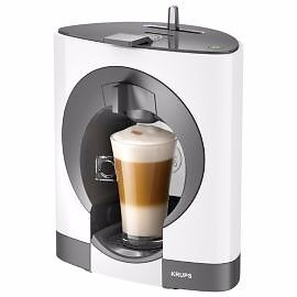 NESCAFE Dolce Gusto Oblo Manual Coffee Machine by Krups - White - Brand New