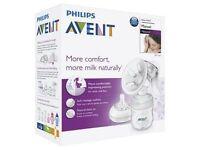 Avent manual breast pump BRAND NEW