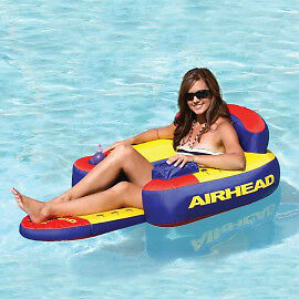 Bimini Lounger II Inflatable One Person Lounge Float