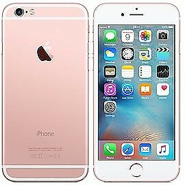 IPhone 6s - Rose Gold, 16GB, Vodafone