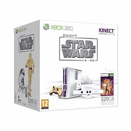 XBOX 360 LIMITED EDITION STAR WARS 320GB CONSOLE BUNDLE + KINECT - NEW & SEALED