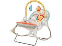 Fisher price 3 in 1 swing and rocker suitable from birth excellent condition